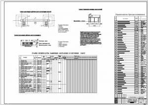 Дипломный проект по специальности промышленное и гражданское строительство (ПГС) на тему: 10-и этажный жилой дом со...