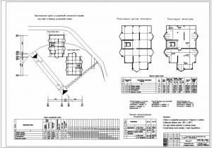Монолитный жилой дом. Технологическая карта на устройство опалубки