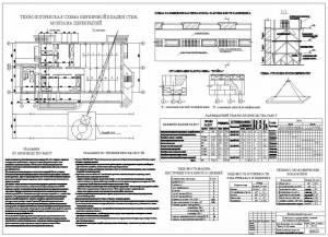 Реконструкция автостанции. Технологическая карта на кладку стен и монтаж плит перекрытия