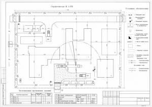 Проект производства работ и сетевой график. Общественный центр