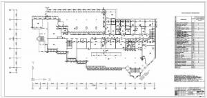 Универсам в г.Витебск. План первого этажа