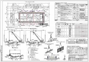 Заводоуправление промышленного предприятия (в панельных конструкциях). Устройство монолитных фундаментов ТК