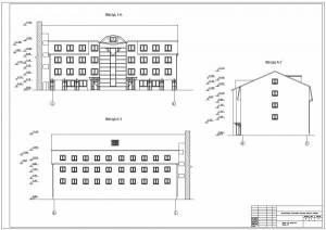 Реконструкция гостиничного комплекса Анзас. Фасады здания
