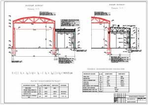 Реконструкция производства N2 ПО Стекловолокно. Сравнение вариантов фермы покрытия