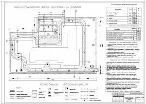 Реконструкция учебного корпуса медицинского университета. Стройгенплан
